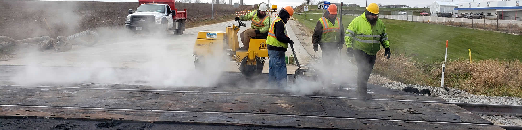 Asphalt Patchwork and Repairs Services near me