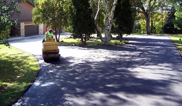 Residential Driveway Asphalt Paving Contractor Wisconsin