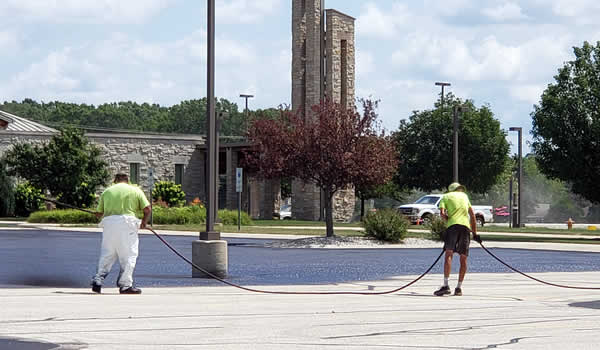 Sealcoating Parking Lots | Asphalt Paving Contractor Wisconsin